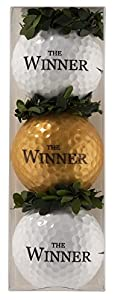 Golfball-Set The Winner - Ein tolle Aufmerksamkeit für echte Gewinner