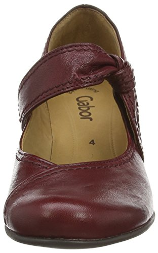 Gabor Shoes Basic, Scarpe con Tacco Donna Rosso (Dark Red 45)