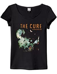 Amplified The Cure - Disintegration - Womens Black T Shirt