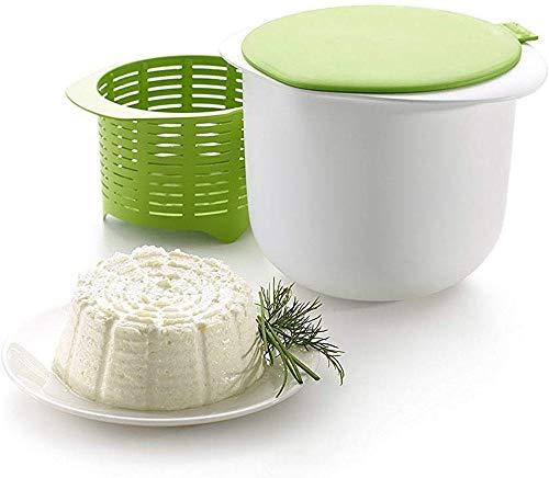 Poesschneider Salon Styler Haarbürsten Käsemacher Frischkäsebereiter Set Frischkäse zu Machen Käsemacher Mikrowelle Dessert Gebäck Macht Werkzeug