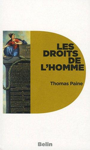Les droits de l'homme par Thomas Paine