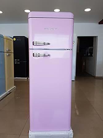 five5cents g215 schaub lorenz sl 208 k hlgefrierkombination pink retro k hlschrank. Black Bedroom Furniture Sets. Home Design Ideas