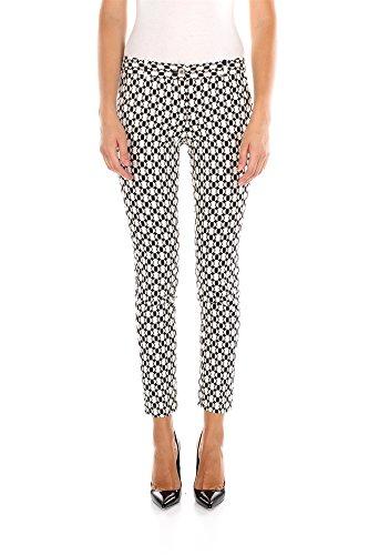 Pantaloni Michael Kors Donna Cotone Bianco MF53F542PRBLACK Bianco 6 US - 44 IT
