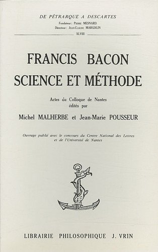Francis Bacon, science et méthode