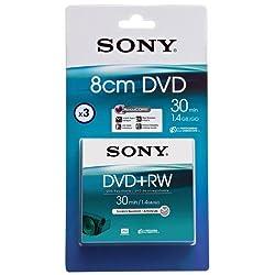 Sony 3 Pack 8cm Dvd+rw 30 Min - Blister