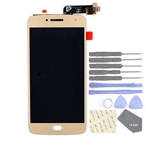 VEKIR LCD Touch Digitizer Glas Bildschirm Ersatz für Motorola MOTO G5 plus (Gold)