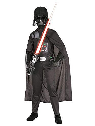 Kostüm Trooper Dark - Rubie's 3 882009-L - Darth Vader Kind Kostüm, Größe Large