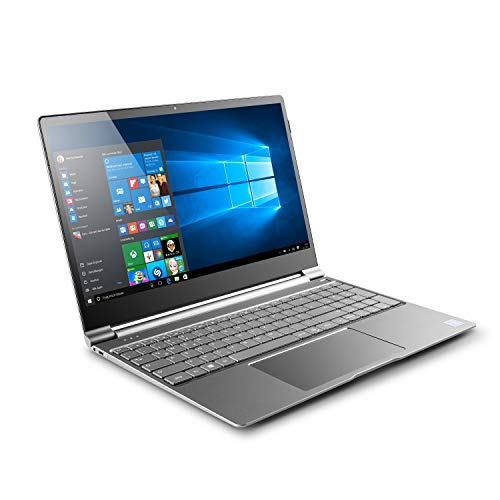 "CSL R'Evolve C15 inkl. Win10 Home - Lautloses UltraSlim-Notebook in edlem Metallgehäuse mit 15,6"" TFT-Display, Intel Pentium N4200 4X 2500 MHz, 240GB M.2 SSD, 8GB RAM, AC WLAN, USB 3.1, Bluetooth"