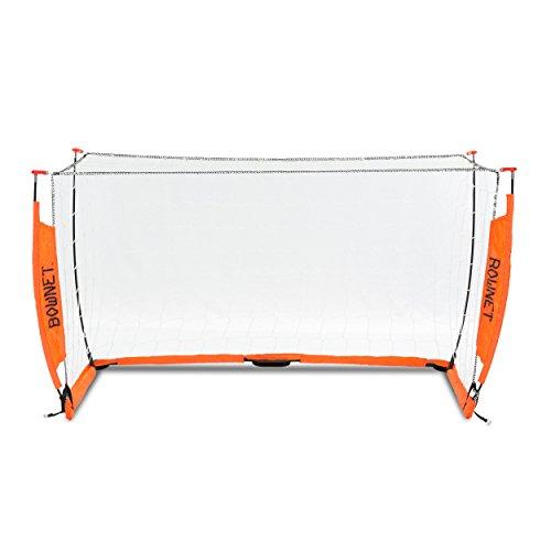 Bogen Store Tragbares Fußball Soccer Netz, Orange, 3 x 5 m Orange Soccer Net
