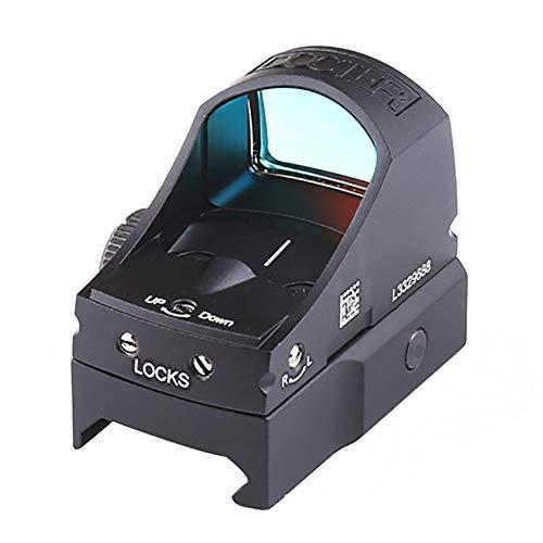 YGQersh Scope, Point Rouge Tactique Sight Scope Accessoire de Chasse Automatique pour Optique de luminosité