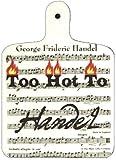 Too Hot To Handel Kitchen Planche à découper-Partition musicale Chef