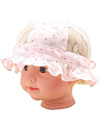 Fletion 5 – 12 mesi baby hats bambino estate cappello cappuccio cotone Baby  Baby Floral Mesh 446f1c02b13e