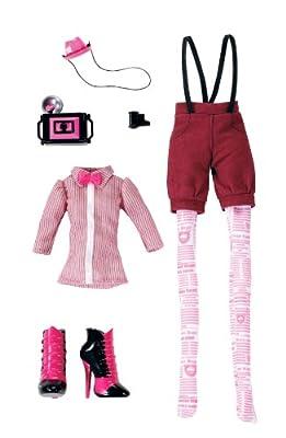 Monster High - W2553 - Mini muñeca y la muñeca - vestido de Monster High - Club Draculaura por Mattel