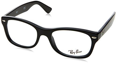 RAYBAN JUNIOR Unisex-Kinder Brillengestell 0ry 1528 3542 46, Schwarz (Nero)