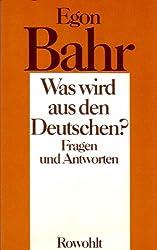 Was wird aus den Deutschen? Fragen und Antworten