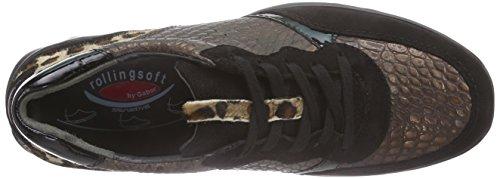 Gaborrollingsoft 36.963 - Scarpe da Ginnastica Basse Donna Marrone (Braun (bronce/schwarz 12))