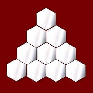 Hexagon Wall Art Decoration Home Decor decorazione per soggiorno, nursery, porte, finestre, bagno, frigo, bambino, bambini