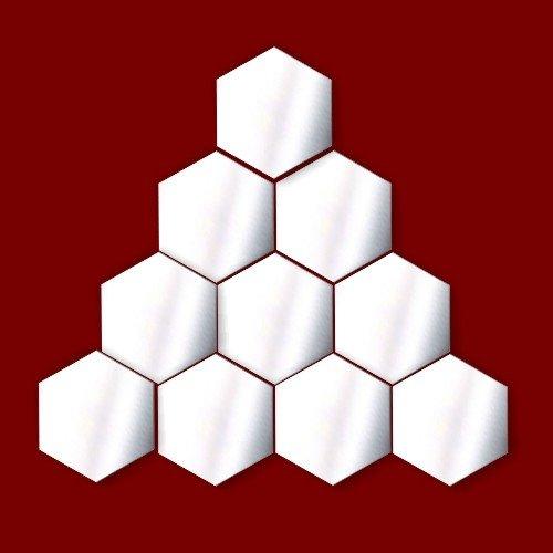 Da-de-boxeo-VENTA-decorativo-adornosNursery-Ventana-Habitacin-Decoration-Pack-de-10-espejos-de-acrlico-hexagonal-5-cm-cada
