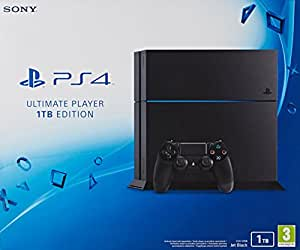 Sony Computer Entertainment Playstation® 4 console 1 TB noir incl. Controller
