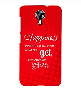 ColourCraft Quotes Back Case Cover for MICROMAX CANVAS XPRESS 2 E313