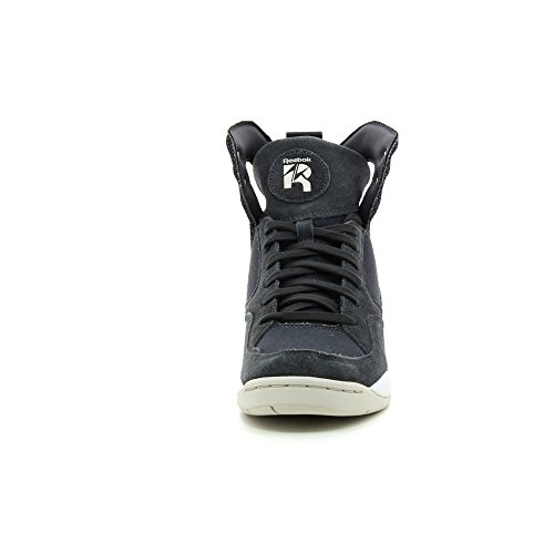 Reebok A.Keys Court, Baskets mode femme Gravel/ Weatherer / White