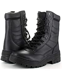 Highlander Mens Delta Wicking Thinsulate Lined Leather Combat Boots 42c69c33ba3