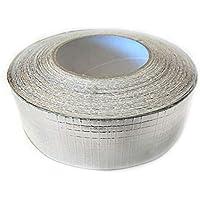 Cinta Adhesivo aluminio reforzado 45mt. x 50mm.