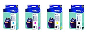 Brother LC123 Value Multipack - Black/Cyan/Magenta/Yellow