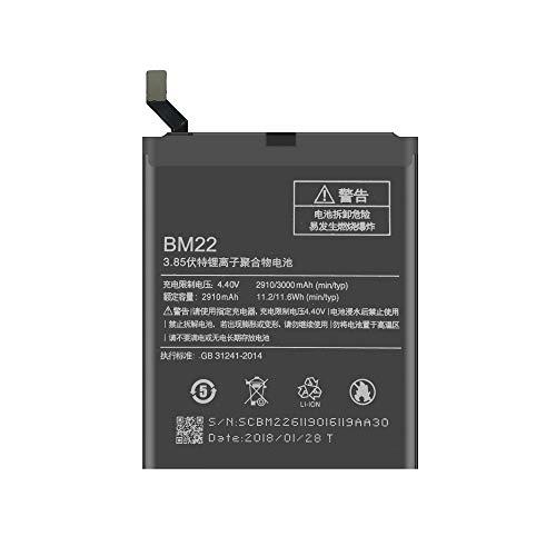 TY Top Europe Kit - Xiaomi 5 Batería Interna Li-Ion
