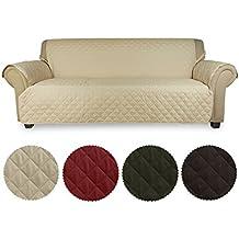 KINLO Funda de sofá Cubre sofá 3 plazas para mascotas -- Anti-rascado, anti-incrustante, proteger el sofá