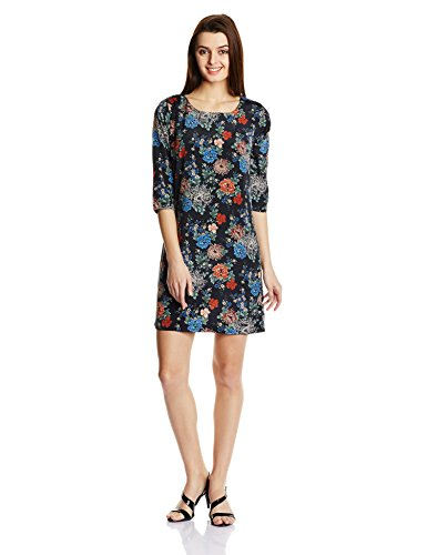 Pepe Jeans Womens A-Line Dress (CATHARINE LS_Black_S)