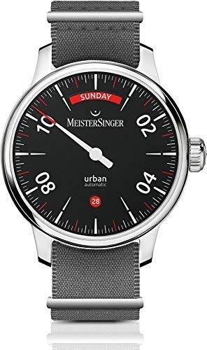 MeisterSinger Urban Day Date URDD902 Einzeiger Automatikuhr (Meistersinger Uhr)