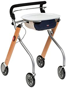 NRS Healthcare Lets Go Indoor Rollator (Eligible for VAT relief in the UK)