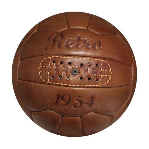 Retrofußball, Fußball Retro 1954, Echtleder -
