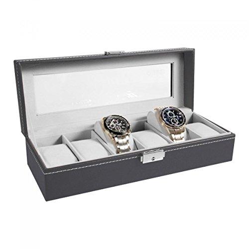 ohuhur-6-scomparto-scatola-porta-orologi-organizzatore-espositore-display-gioielli-vetro-superiore-b