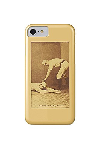 Boston Beaneaters - Old Hoss Radbourn - Baseball Card (iPhone 7 Cell Phone Case, Slim Barely There) -