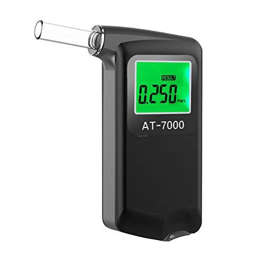 Ciaoed Alcoholimetro Digital LCD Homologado Precisión de Grado Profesional Resultado BAC...