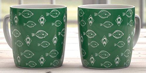 SV Werder Bremen Kaffeetasse 320 ml - Motiv Schwarm