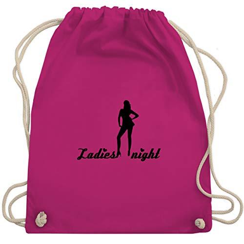 JGA Junggesellinnenabschied - Ladies Night - Unisize - Fuchsia - WM110 - Turnbeutel & Gym ()
