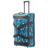 Travelite Campus Doppeldeckertrolley Reisetasche auf Rollen 78 cm Quadro blau