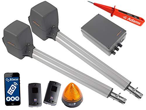 Pl2 Serie (Hörmann, Rotamatic PL2 BiSecur Serie 3 - Drehtorantrieb (2-flüglig) mit WLAN GATE Modul,Lichtschranken EL301 und Warnlicht SLK Set 5in1A)