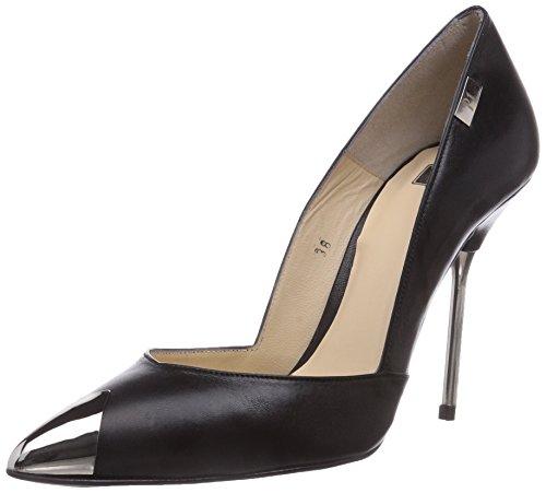 P1 145, Escarpins femme Noir (Black)