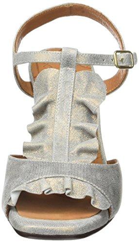 Chie Mihara Damen Aubo T-Spangen Sandalen Or (cyprus bronce)