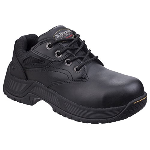 Dr Martens Unisexe Calvert Steel Toe Chaussures De Sécurité En Cuir À Lacets
