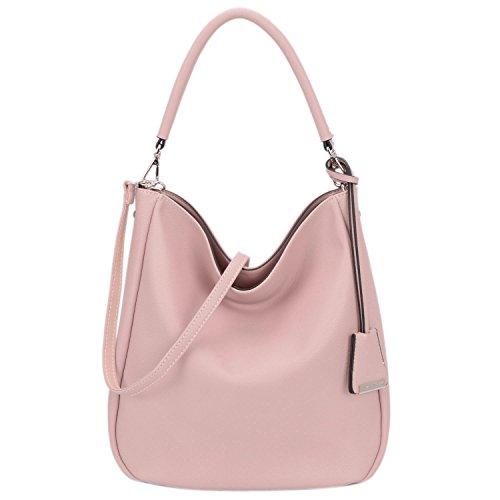 bf136325a41c0 David Jones - Damen Schultertasche Mittelgroße Hobo Schulter Tasche -  Frauen Lange Henkel Handtasche - Weiches