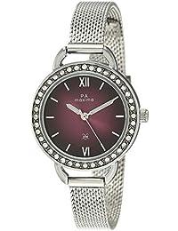 Maxima Analog Brown Dial Women's Watch-53021CMLI