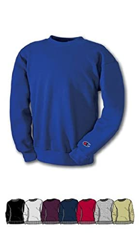Champion Reverse Weave® Crewneck Men's Sweatshirt, M-Oxford Gray