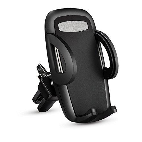 Handyhalterung Auto, KFZ Lüftung Handy Halterung 360 Grad drehbar Universal für iPhone 7 / 6s / 6 / 5s / 5, Samsung und jedes andere Smartphone oder GPS-Gerät