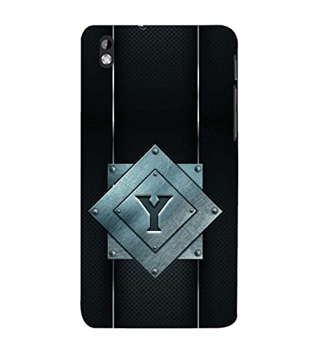 YuBingo HTC Desire 816 :: HTC Desire 816 Dual Sim :: HTC Desire 816G Dual Sim Designer Phone Back Case Cover ( Youthful Letter Y (Metal Finish Plastic) )  available at amazon for Rs.449