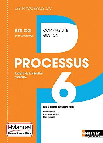 Processus 6 BTS CG 1re et 2e année